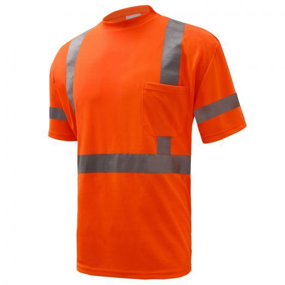 Gss Safety Class 3 Short Sleeve T Shirt Orange