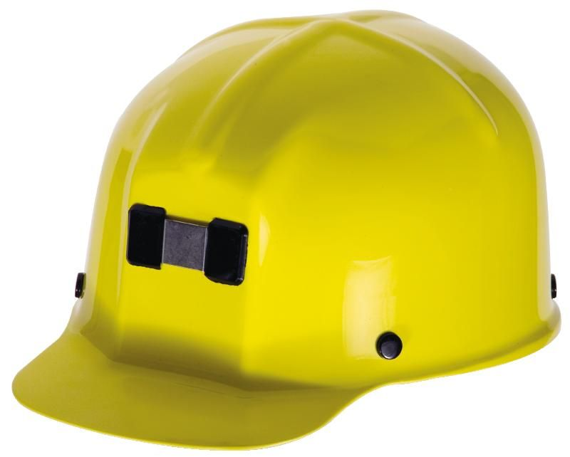 MSA Comfo-Cap Mining Hard Hat w/ Staz-On Suspension