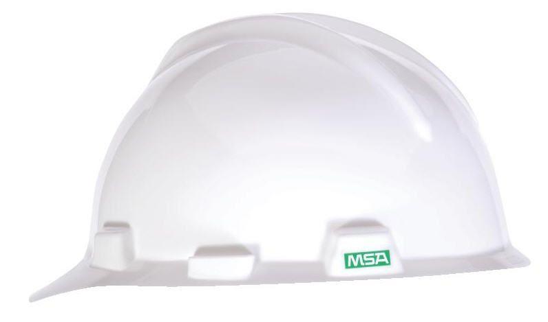 MSA V-Gard Hard Hat w/ Ratchet Suspension