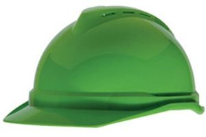 MSA V-Gard 500 Hard Hat w/ 6 pt Ratchet Suspension