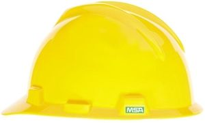 MSA V-Gard Hard Hat w/ Staz-On Suspension