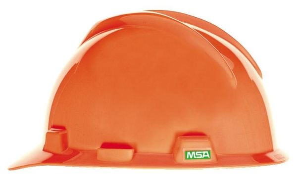 Large MSA V-Gard Hard Hat w/Ratchet Suspension
