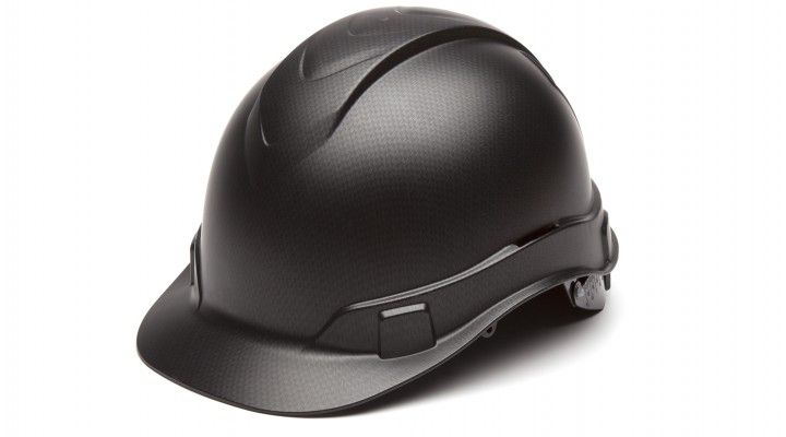 Pyramex Ridgeline Cap Style Hard Hat 4-Point Ratchet